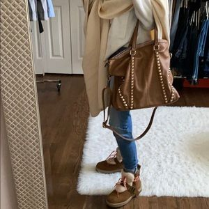 Great studded hobo bag